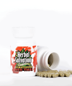 Herbal Salvation Red Thai Kratom Capsules
