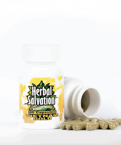 Herbal Salvation Vietnam Gold Kratom Capsules