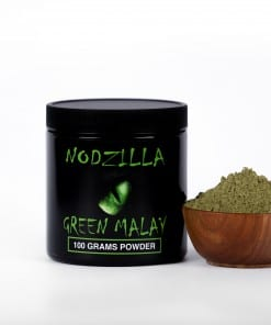 Nodzilla Green Malay Kratom Powder