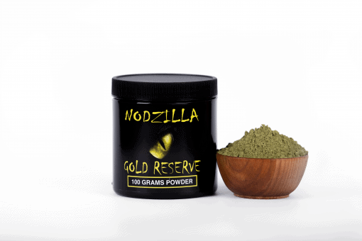 Nodzilla Gold Reserve Kratom Powder