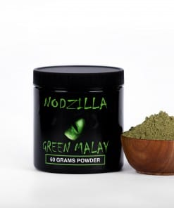 Nodzilla Green Malay Kratom Powder