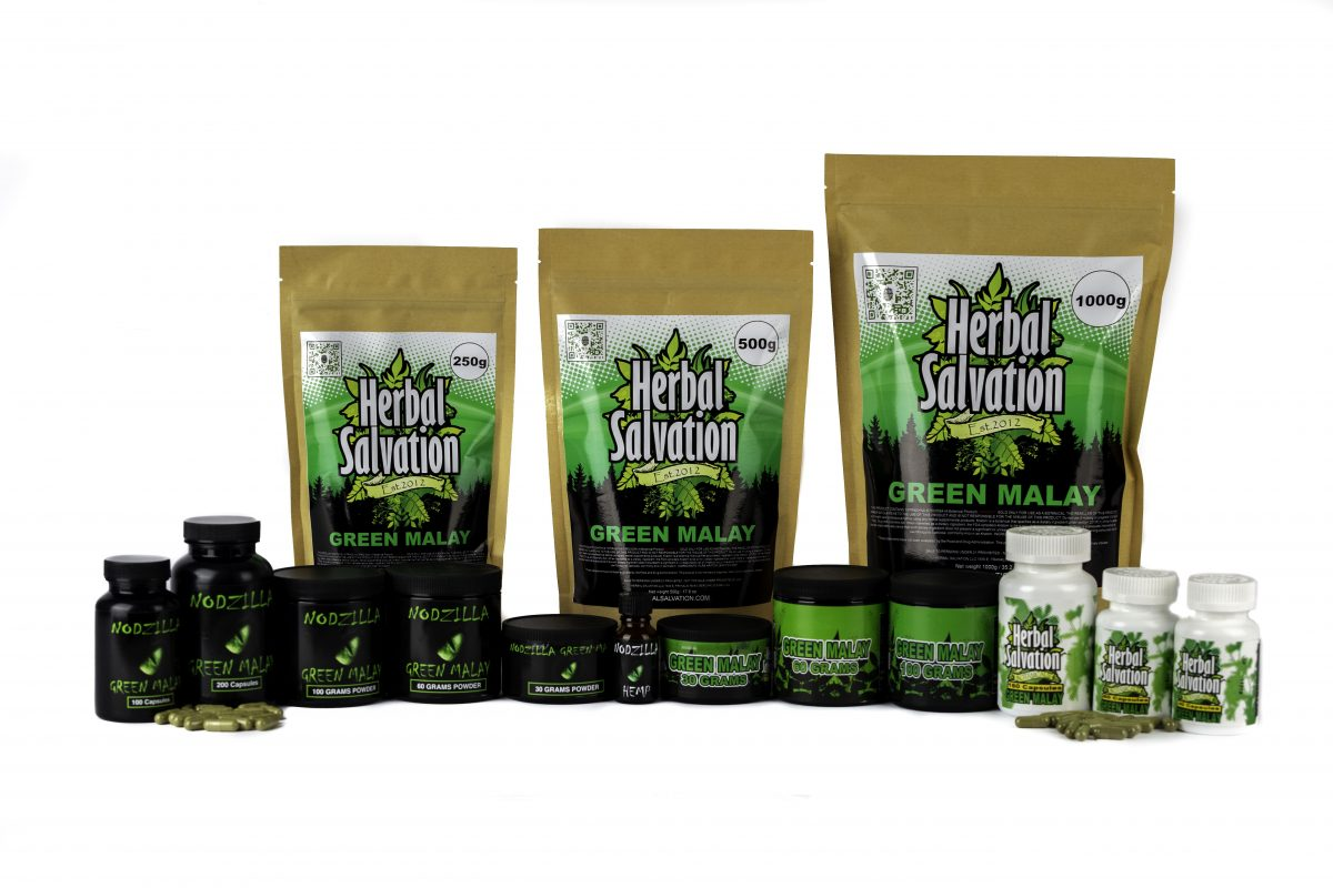 Herbal Salvation Kratom Green Malay Series
