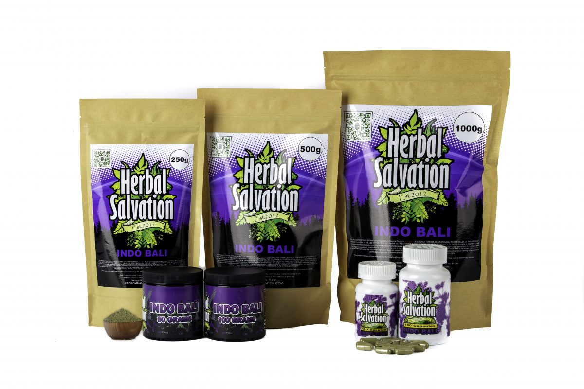Herbal Salvation Kratom Indo Bali Series