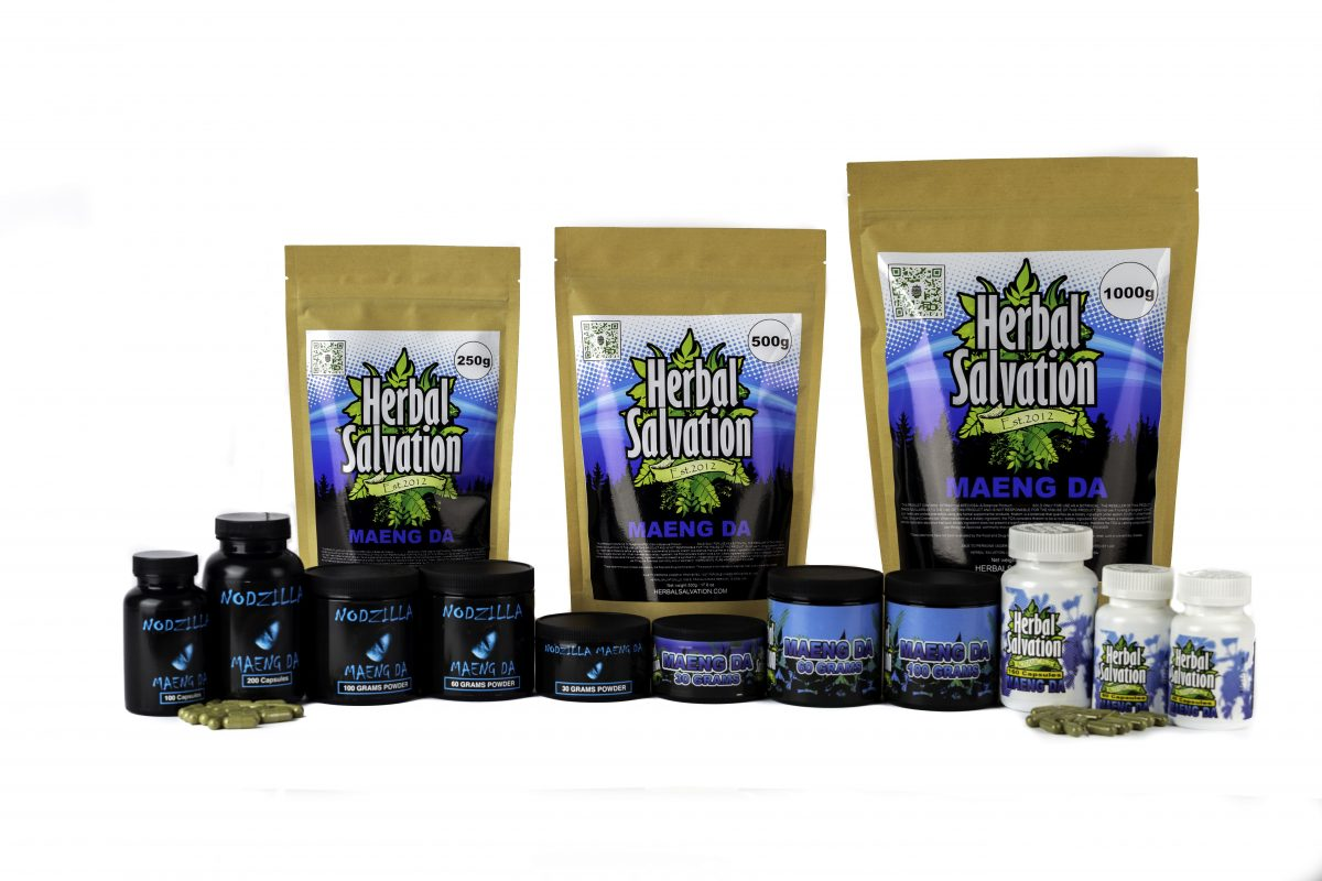 Herbal Salvation Kratom Maeng Da Series