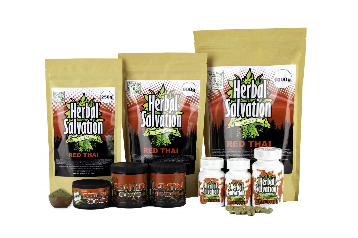 Herbal Salvation Kratom Red Thai Series